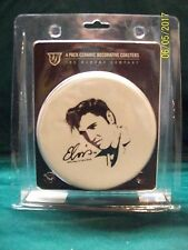 ELVIS CERAMIC DECORATIVE COASTERS 4 PAC 2010