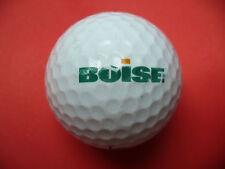 Pelota de golf con logo-boise-golf logotipo Ball como talismán recuerdo regalo......