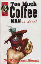 Too Much Coffee Man #4 VF/NM; Adhesive | save on shipping - details inside
