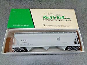 Pacific Rail Shops S Scale P.R.R  ACF '4650'  Center Flow Hopper, CH-661 R.T.R