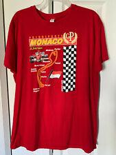 "Monaco Grand Prix XL T-Shirt ""Principaute Monaco GP"" Formula 1 (Fits like Large)"