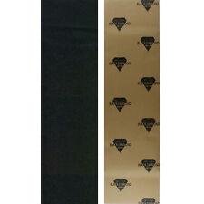 "Black Diamond Skateboard Grip Tape Sheet Black 9"" x 33"" Griptape"