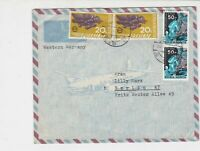 Indonesia 1972 Airmail to Berlin Multiple Stamps incl. Space Cover ref R 18022