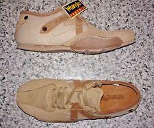 Wrangler KM1812 Reload Lace Up Beige Suede Shoes - UK 7/ EUR: 41
