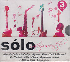 CD - Solo Instrumental NEW 3 CD's Tema De Nadia Various Artist FAST SHIPPING !