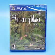 Secret of Mana (Playstation 4, PS4 2018) Factory Sealed US Physical Version
