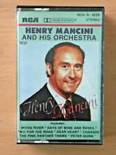HENRY MANCINI AND HIS ORCHESTRA PHILIPPINES Paper Label CASSETTE TAPE