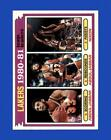 1981-82 Topps Basketball Cards 118