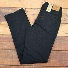 Levi's 505 Straight Women's Jeans Size 4 Dark Wash NWT 27