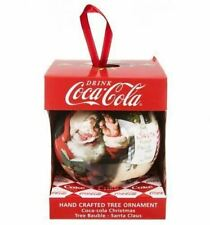 12 COCA COLA CHRISTMAS TREE SANTA Babiole Ball Ornement Décoration cadeau festif fête