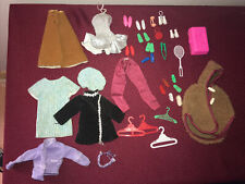 Vintage Lot Mixed Barbie Clothing And Accessories