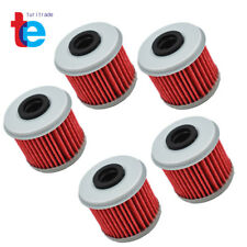5x Oil Filter Fit For Honda TRX450R CRF150R /RB CRF250X CRF450X CRF250R CRF450R