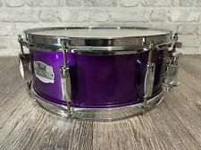 """More details for pearl export ex wood shelled snare drum 14""""x5.5"""" 8 lug / hardware #sn901"""