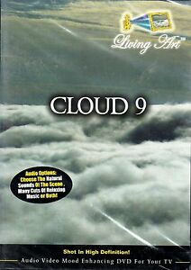 Living Art CLOUD 9: VIRTUAL STRESS RELIEF RELAXATION w/ NATURAL SOUNDS & MUSIC!