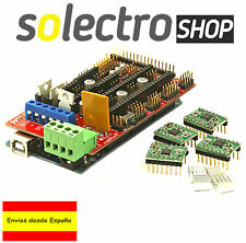 Mega 2560 R3 + Ramps 1.4 RepRap + 4x A4988 driver 3D impresora Arduino kit I0022