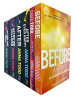 Anna Todd After Ever Happy Nothing More Series 6 Books Collection Set NEW Pack