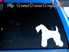 Kerry Blue Terrier -Vinyl Decal Sticker -Color Choice -High Quality