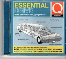 (FD652) Essential Drive, 21 tracks various artists - 2001 Q Magazine CD