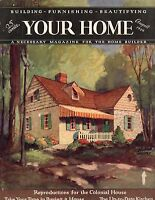 1929 Your Home August-Homes:Glencoe IL:Locust Valley L.I.;Farmington,Sound Beach