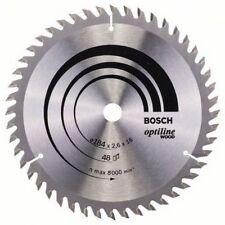 Bosch 2608641181 Circular Saw Blade 184mm x 16mm x 48T Optiline Wood Cut