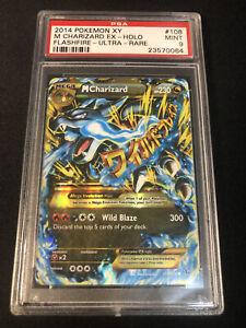Pokemon Mega Charizard 108/106 XY Flashfire PSA 9 Mint