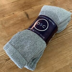 Diabetic Socks Set X 3 New Unisex Gray Calf 10-13 Women | 8-12 Men Made In USA
