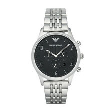 NEW EMPORIO ARMANI AR1863 MENS BETA CHRONOGRAPH WATCH - 2 YEAR WARRANTY