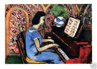 MATISSE SIGNED LITHOGRAPH 1939 with COA. gift a pianist unique MUSICAL RARE ART