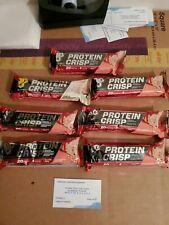 (6) BSN Protein Crisp Bars Strawberry Crunch Flavor 2.01 Oz Each (1) Vanilla Mar