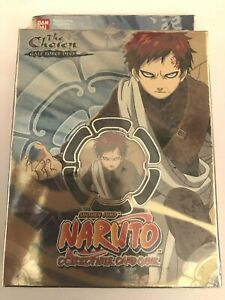 Naruto Collectible Card Game - The Chosen Gale force deck Factory Sealed