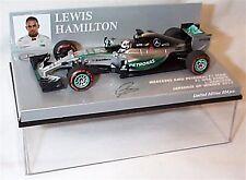 NEW 1/43 Minichamps 417150344 Mercedes W06, winner Japanese GP 2015 Hamilton