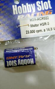 Motor HSR-3 23.000 rpm a 14.8v Hobby Slot ACR022