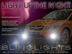 2013 2014 2015 Subaru XV Crosstrek Xenon Halogen Fog Lamps Driving Light Kit Set