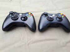 2 Xbox 360 Controller Schwarz