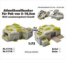Für Diorama Nr.1171A Atlantikwallbunker für Pak von 5-10,5cm 1:72
