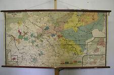 Murs carte mural carte uni preussen prusse 1415-1806 165 x86 ~ 1910