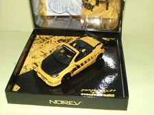 PEUGEOT 206 PAROTECH CONCEPT CAR PROTOTYPE NOREV