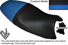 LIGHT BLUE & BLACK CUSTOM FITS TRIUMPH SPEED TRIPLE 08-10 1050 SEAT COVER