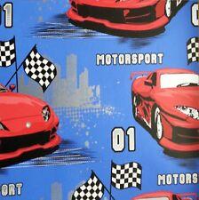 Debona Motorsport Blue-Red Racing Cars Kids Childrens Wallpaper 6332