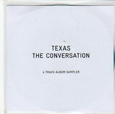 (Eb853) Texas, The Conversation sampler - 2013 Dj Cd