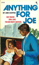"ANN GRIFFIN (DEAN KOONTZ) - ANYTHING FOR JOE aka ""ORAL ORACLE"" RARE 1974"