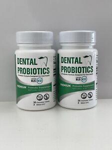 2 x Pro-B Fresh Dental Probiotics with Blis K12 - Factory Sealed