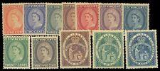 ST. VINCENT QE MINT SET OF 12 STAMPS SG 189 - 200 CAT £ 27