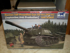 Bronco 1/35 Russian Self-Propelled Gun SU-152 (KV-14),1943 Production - Sealed