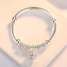 Mode Frauen 925 Sterling Silber Italien Armband Armkette Charm Armreif Chic ape