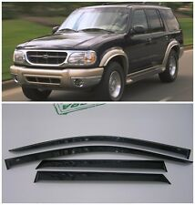 For Ford Explorer 5d 1994-2001 Window Visors Side Sun Rain Guard Vent Deflectors