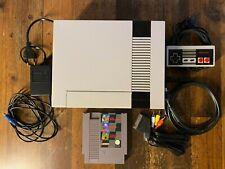 NES Nintendo Entertainment System Spielkonsole + Controller + Spiel + Kabel -PAL
