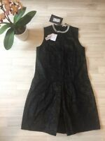 Carven Dress Smock Dress Black EU 40 UK 12 Party Evening Cocktail NEW £450