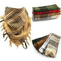 Fashion Unisex Lightweight   Arab Desert Shemagh KeffIyeh Scarf Cosy