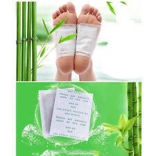 10Pcs DIY Kinoki Detox Foot Pads Patches Plaster Reduce Pain Toxins Health Care